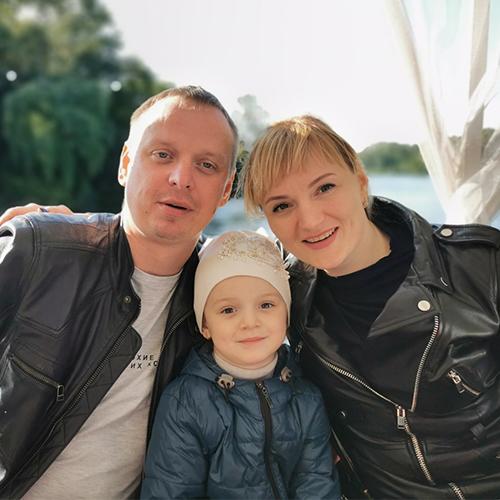 Юлия Ободова и ее семья1
