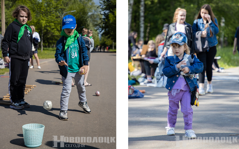 Сайт День защиты детей в парке 18