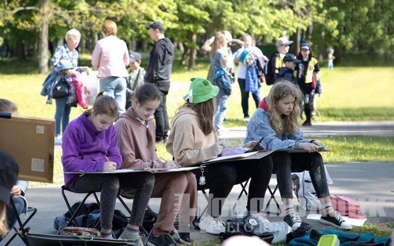 Сайт День защиты детей в парке 8