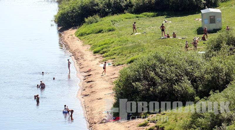 пляж в Новополоцке_2