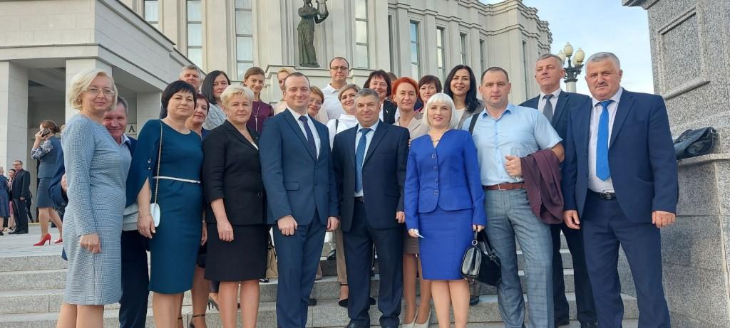 делегация Витебской области