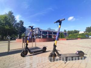Электросамокаты и скамейки с солнечными панелями. Новополоцк пополнился экологичной инфраструктурой