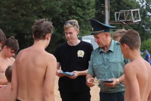 Новополоцк. Летний патруль спасателей и молодежи