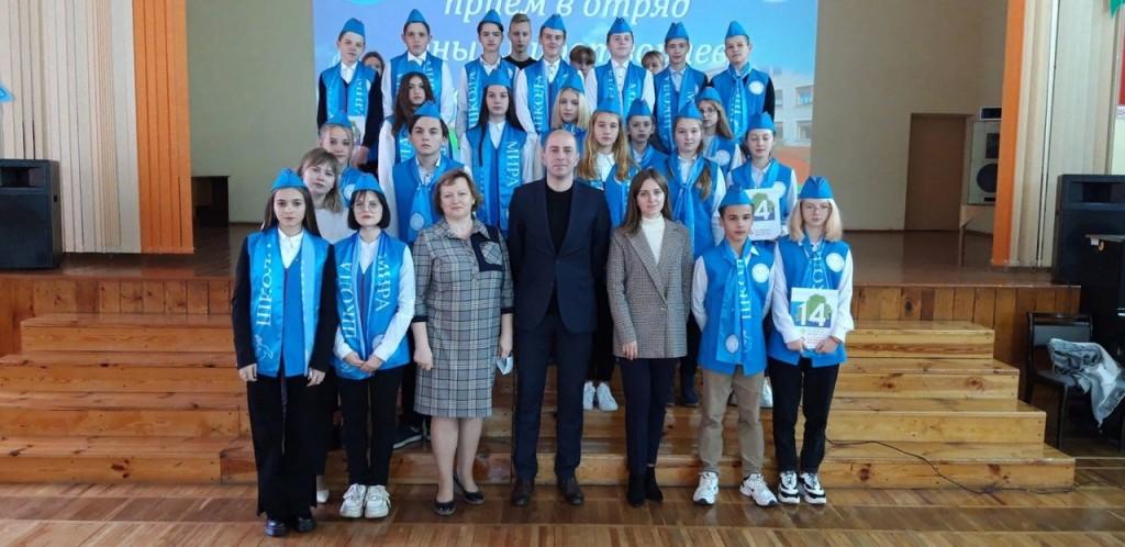 Юные миротворцы Фото присланное