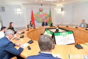 Развитие АПК Витебской области и «Дажынкі-2021» обсудили на пресс-конференции председателя облисполкома Николая Шерстнёва